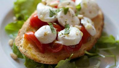 Gambar diet mediterania