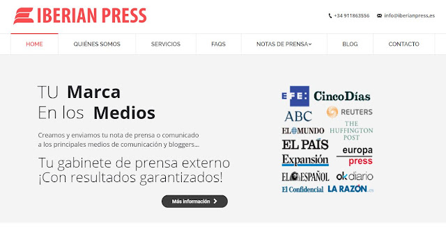opinion iberian press enviar notas de prensa