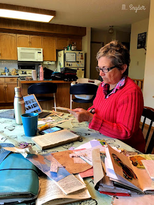 August 12, 2019 Paper crafting all day.