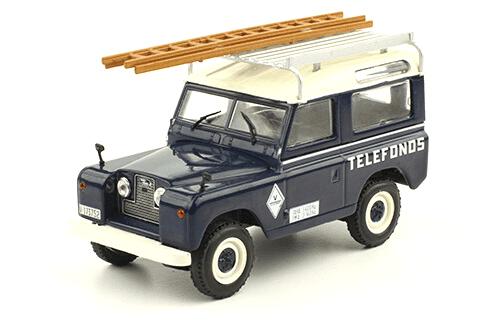 Land Rover Santana 88 1989 Telefónica vehículos de reparto y servicio salvat