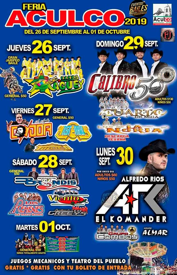 Feria Aculco 2019
