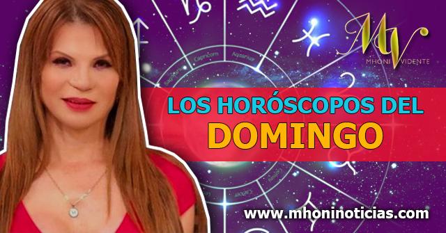 Los Horóscopos del Domingo 25 de Octubre del 2020 - Mhoni Vidente