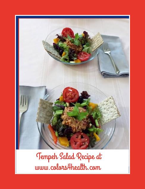 Tempeh Salad Recipe and Vegan Food Prep Ideas