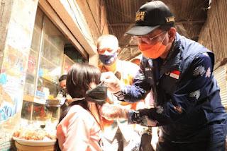 Wabah Covid-19 Belum Berakhir Indramayu Terus Kampanyekan Penggunaan Masker