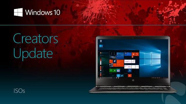 Các cách cập nhật Windows 10 Version 1703 Creators Update từ Microsoft.