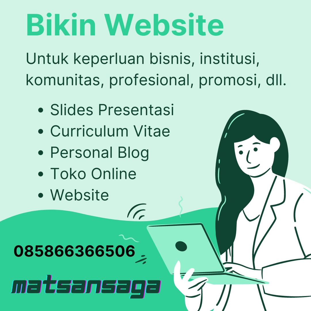 Jasa Pembuatan Website Blog Toko Online UKM UMKM