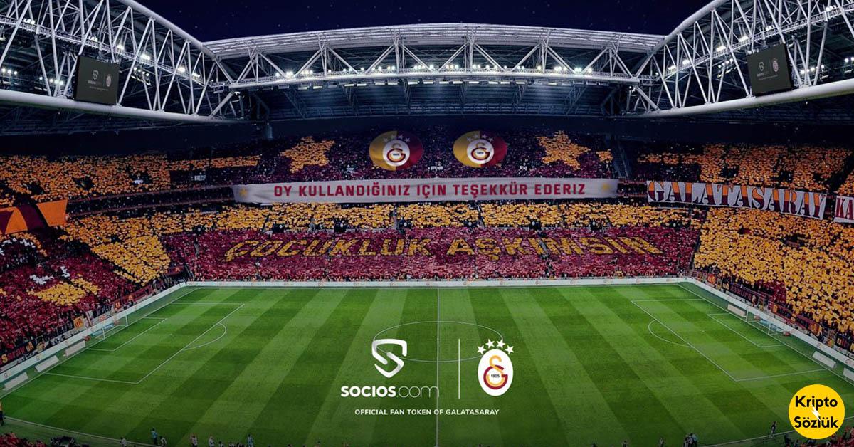 Türkiye'de Bir İlk: Kripto Para İle Galatasaray'ın Stadyum Şarkısı Değişiyor! 💪
