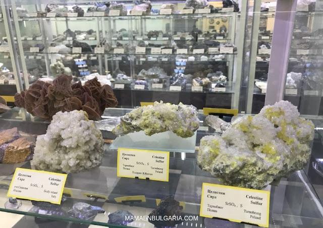 Minerales  Museo Ciencias Naturales Sofía Bulgaria