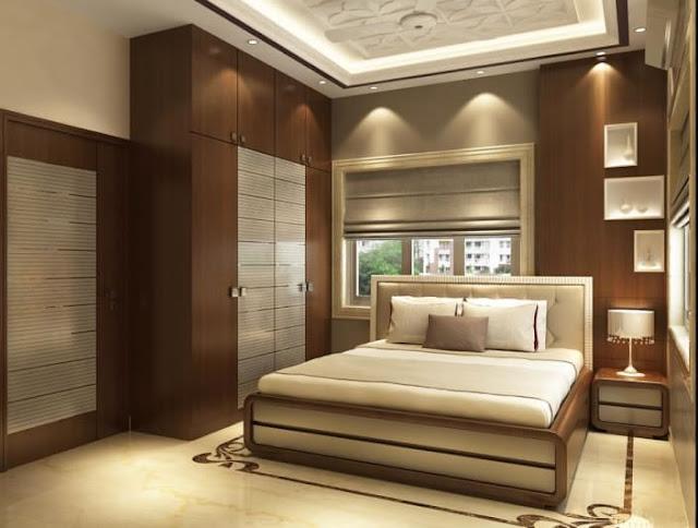 Cupboard design bedroom interior