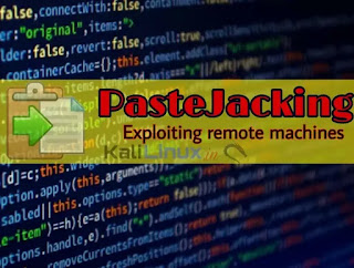pastejacking and pastejacker in kali linux 2020