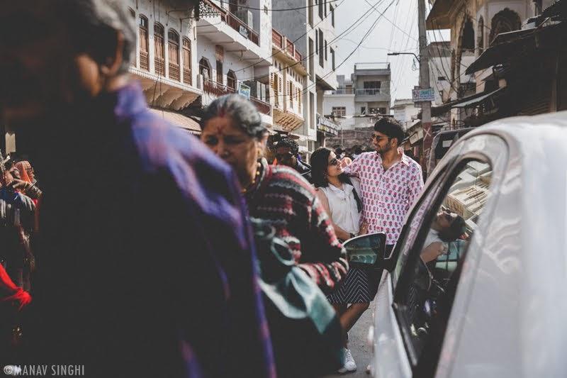 Shweta + Hemant = Pre Wed Photography - Pushkar.