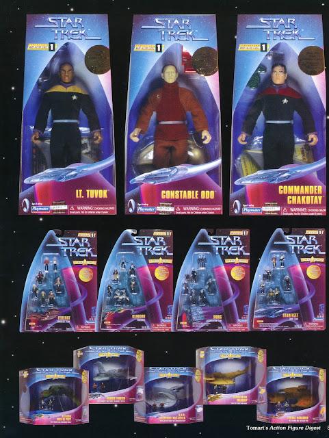 Star Trek Playmates Warp Factor Action Figure