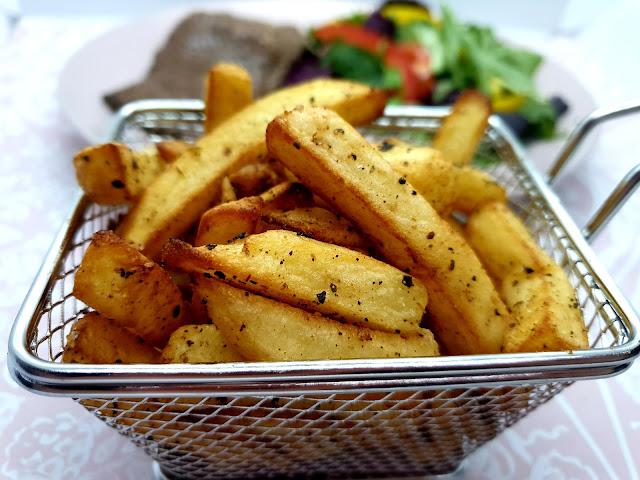 Garlic Bread Flavour Chips | Slimming Recipe