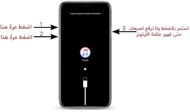 طريقة جديدة لوضع ايفون 8 و اكس في ريكفري مود – Recovery Mode iPhone 8 iPhone X