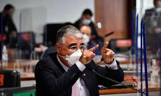 Revelação de Girão na CPI contra Flávio vira piada nas redes