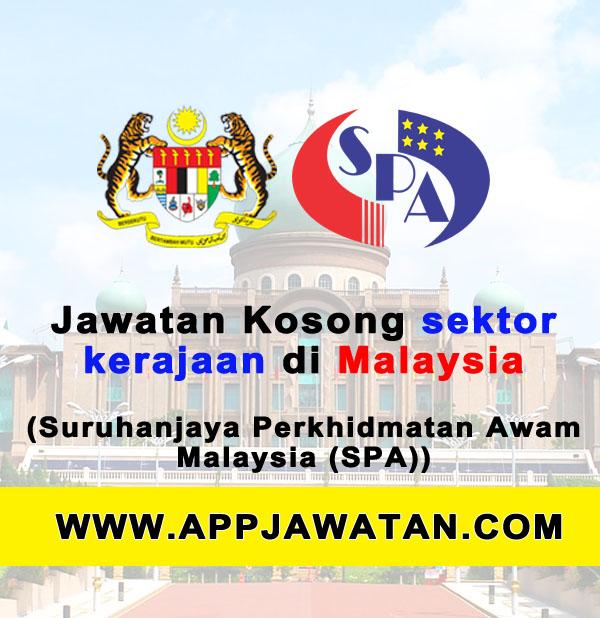 Jawatan Kosong Kerajaan 2017 di Suruhanjaya Perkhidmatan Awam (SPA) - 12 November 2017