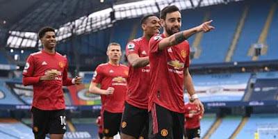 Rekor 21 Kemenangan Beruntun Manchester City Terhenti Di Tangan Setan Merah