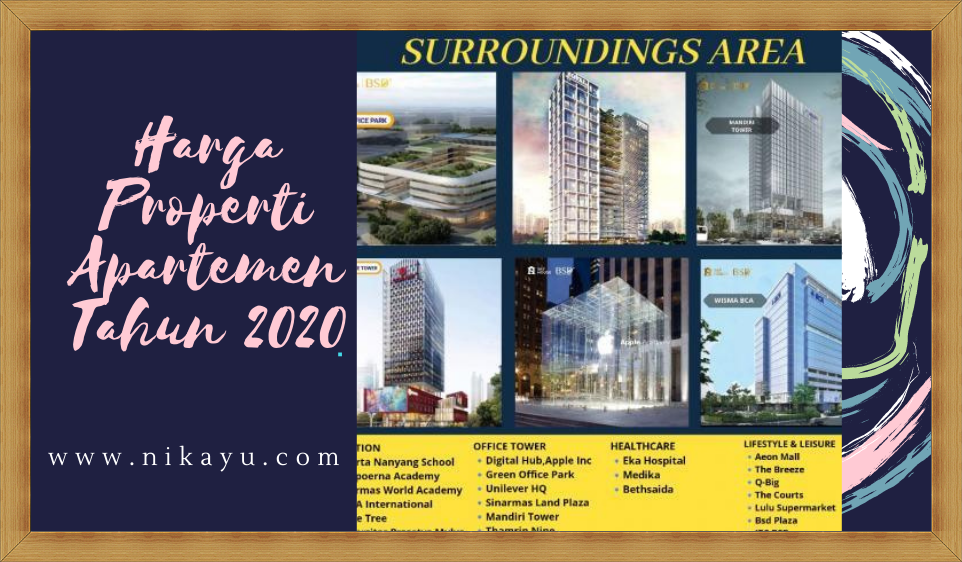 Update: Harga Properti Apartemen Terbaru, September-Oktober 2020