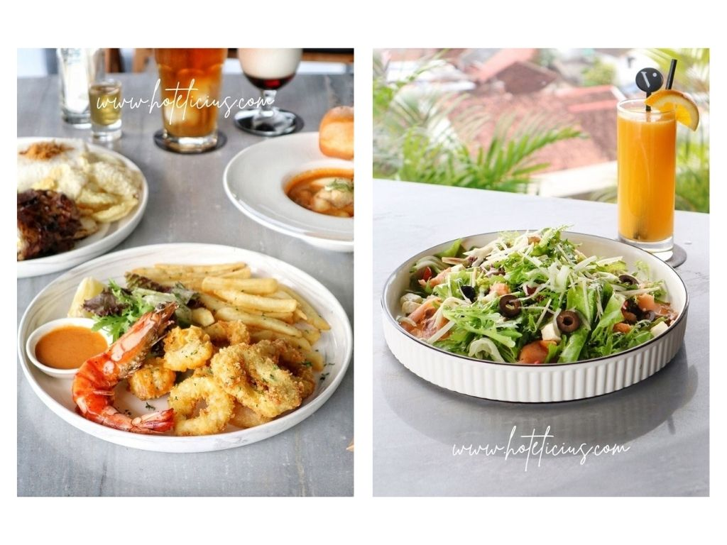 seafood-and-salad-at-grand-aston-hotel-yogyakarta