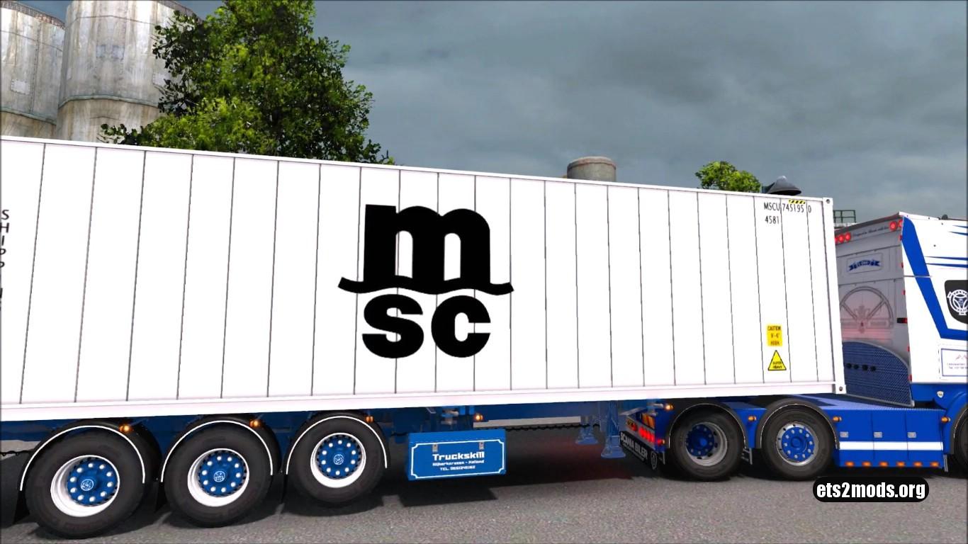 Scania Truckskill Trailer [Reworked 1.27]