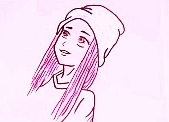 رسم بنات سهلة وجميلة للمبتدئين رسم سهل وكيوت