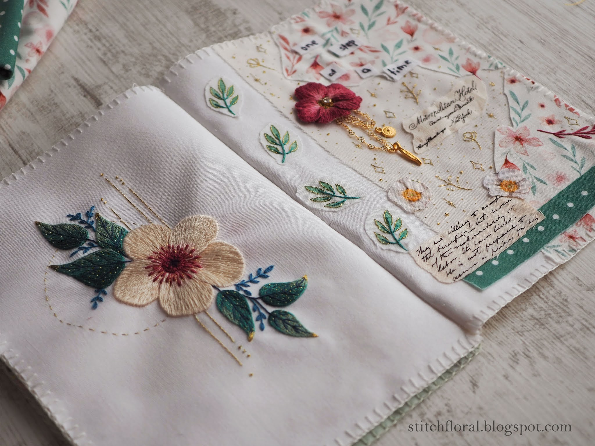 stitch book
