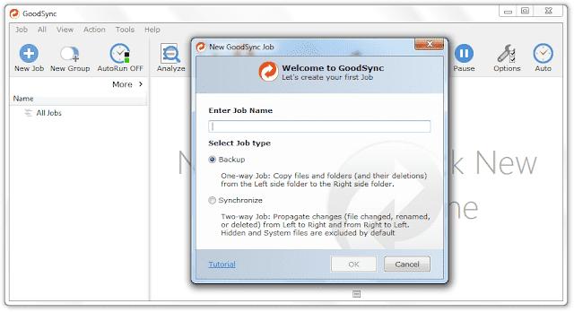 Screenshot GoodSync Enterprise 10.11.1.1 Full Version