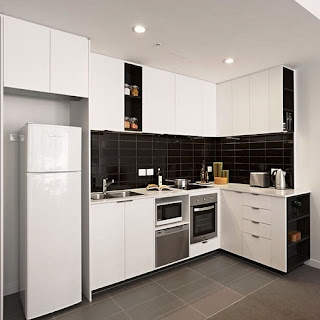 kitchen cabinet design for apartment