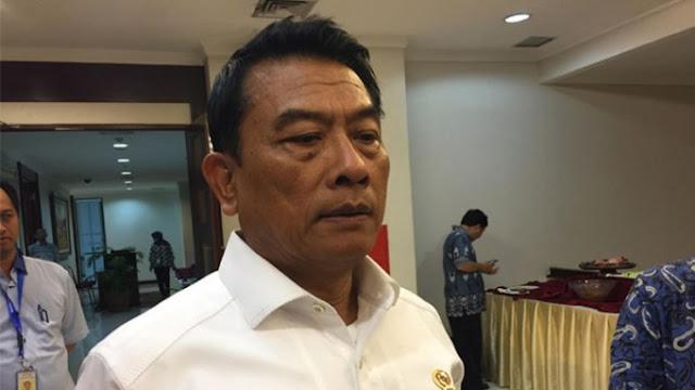 Moeldoko Bantah Mundur dari KSP karena Pilpres 2019