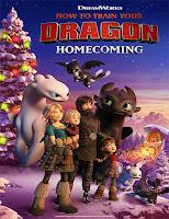 Poster de Cómo entrenar a tu dragón: Homecoming