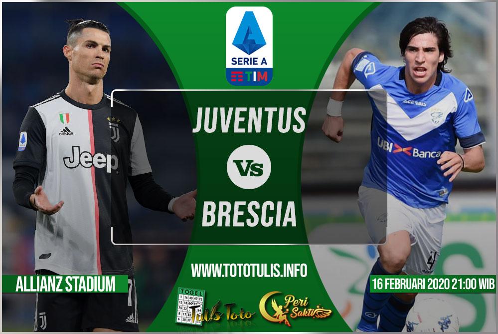 Prediksi Juventus vs Brescia 16 Februari 2020