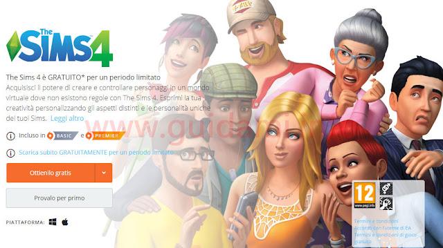 Locandina del gioco The Sims 4