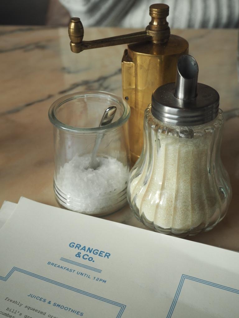 salt mill sugar pot