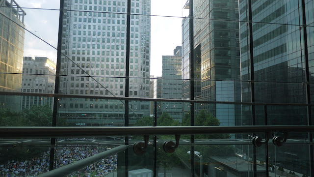 View of Canada Square from The Pearson Room