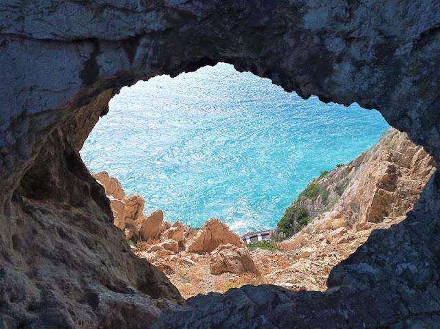grotta briganti sentiero noli varigotti