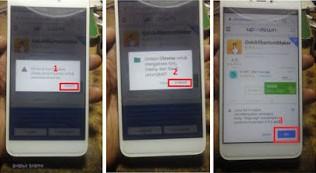 cara mudah frp bypass xiaomi Redmi S2 lupa password email verifikasi