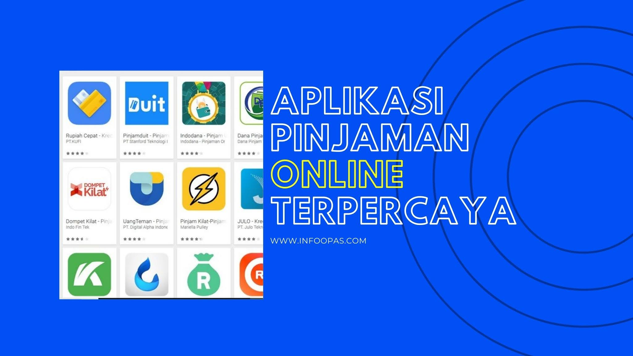 9 Rekomendasi Aplikasi Pinjaman Online Terpecaya Syarat Mudah Modal Ktp Infoopas Com