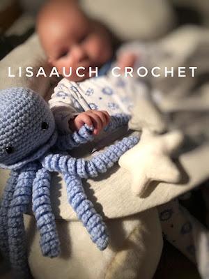 Crochet octopus free pattern
