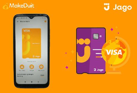 Cara Gunakan Debit Visa Bank Jago untuk Belanja Online