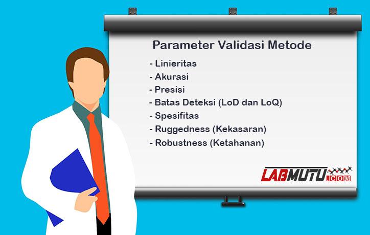 parameter validasi metode analisis