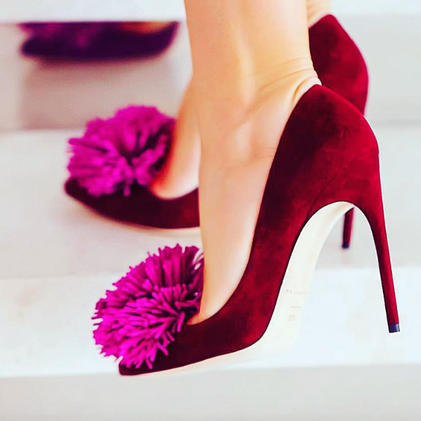 fb40fb689 I love pom poms! They have been in trend for some time now and it looks  like they are here to stay for a little while longer too. These shoes are  just ...