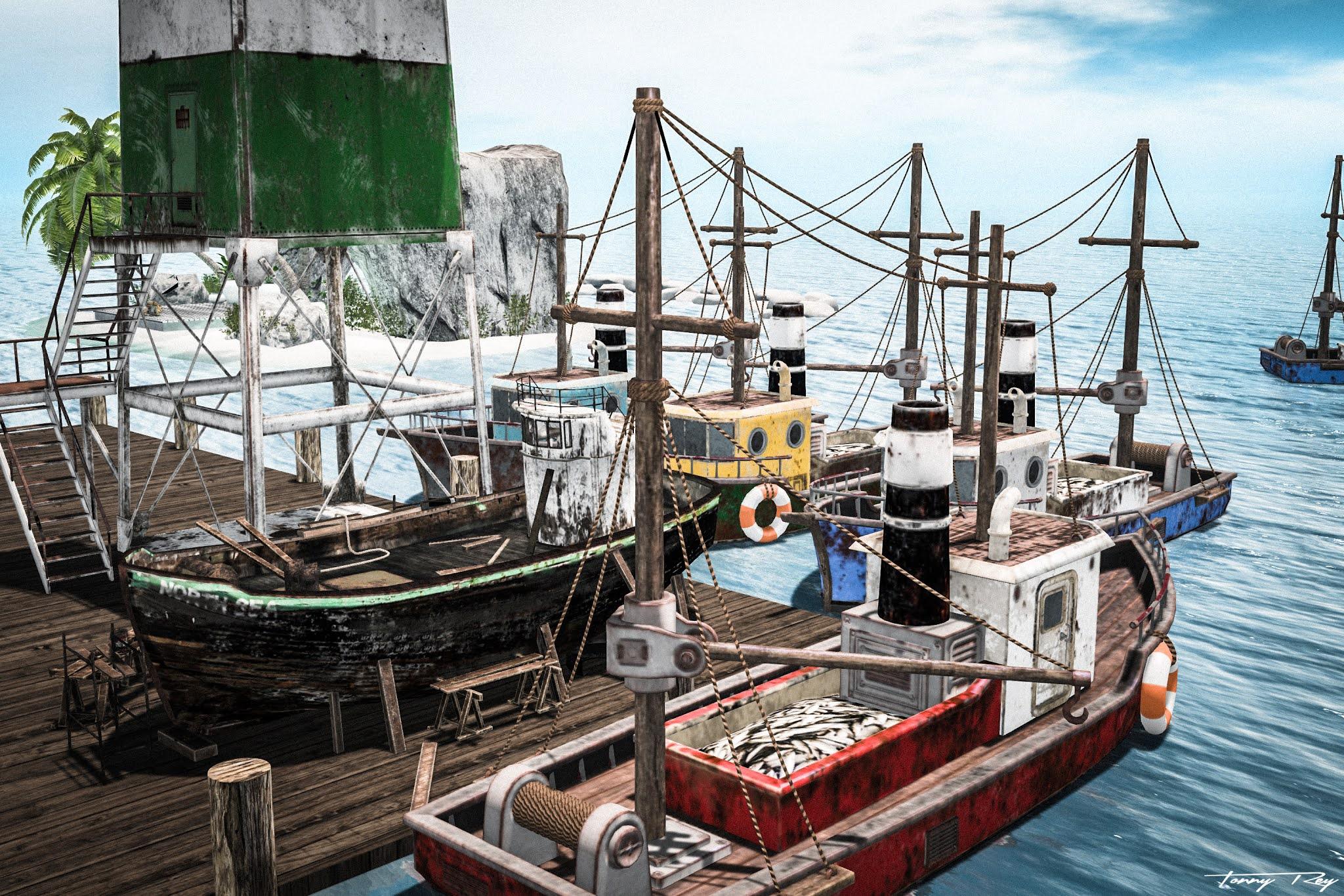 Fishing Port…