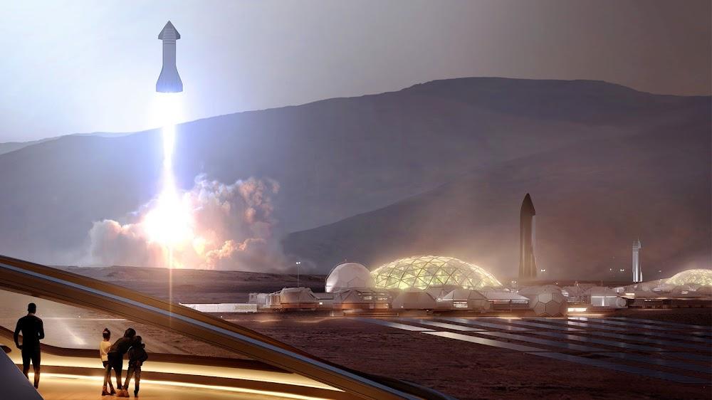 SpaceX%2BStarship%2Blaunching%2Bfrom%2BMars%2BBase%2BAlpha_humanMars.net.jpg