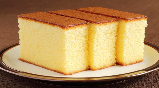 Sponge Cake Recipe with only 3 ingredients and without yeast