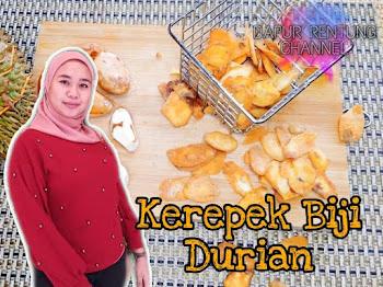Cara Buat Kerepek Durian Perkongsian Puan Azura Jhamary Memang Sangat Rare. Anda WAJIB Cuba