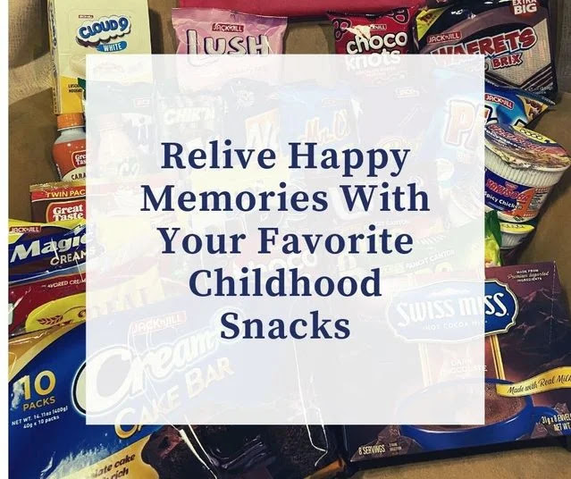 Relive happy memories with your favorite childhood snacks