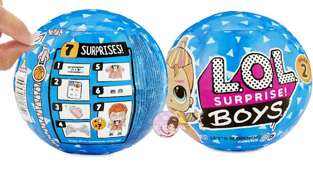 New L.O.L. Surprise! Boys Series 2 Doll with 7 Surprises Release Date Revealed