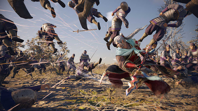yah siapa coba yang tidak kenal dengan game yang satu ini Dynasty Warriors 9 Kini hadir dengan Gameplay Epic
