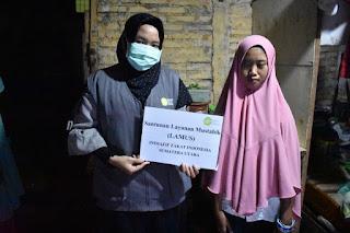 Senyuman Rasa Syukur,  Program Lamus untuk Gadis Yatim Piatu Tunanetra