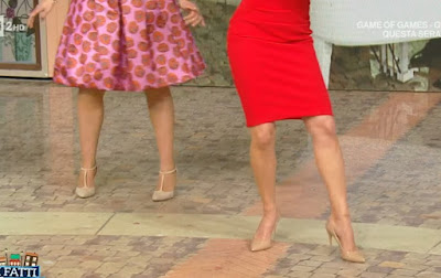 Samanta Togni scarpe ballo i fatti vostri 14 aprile